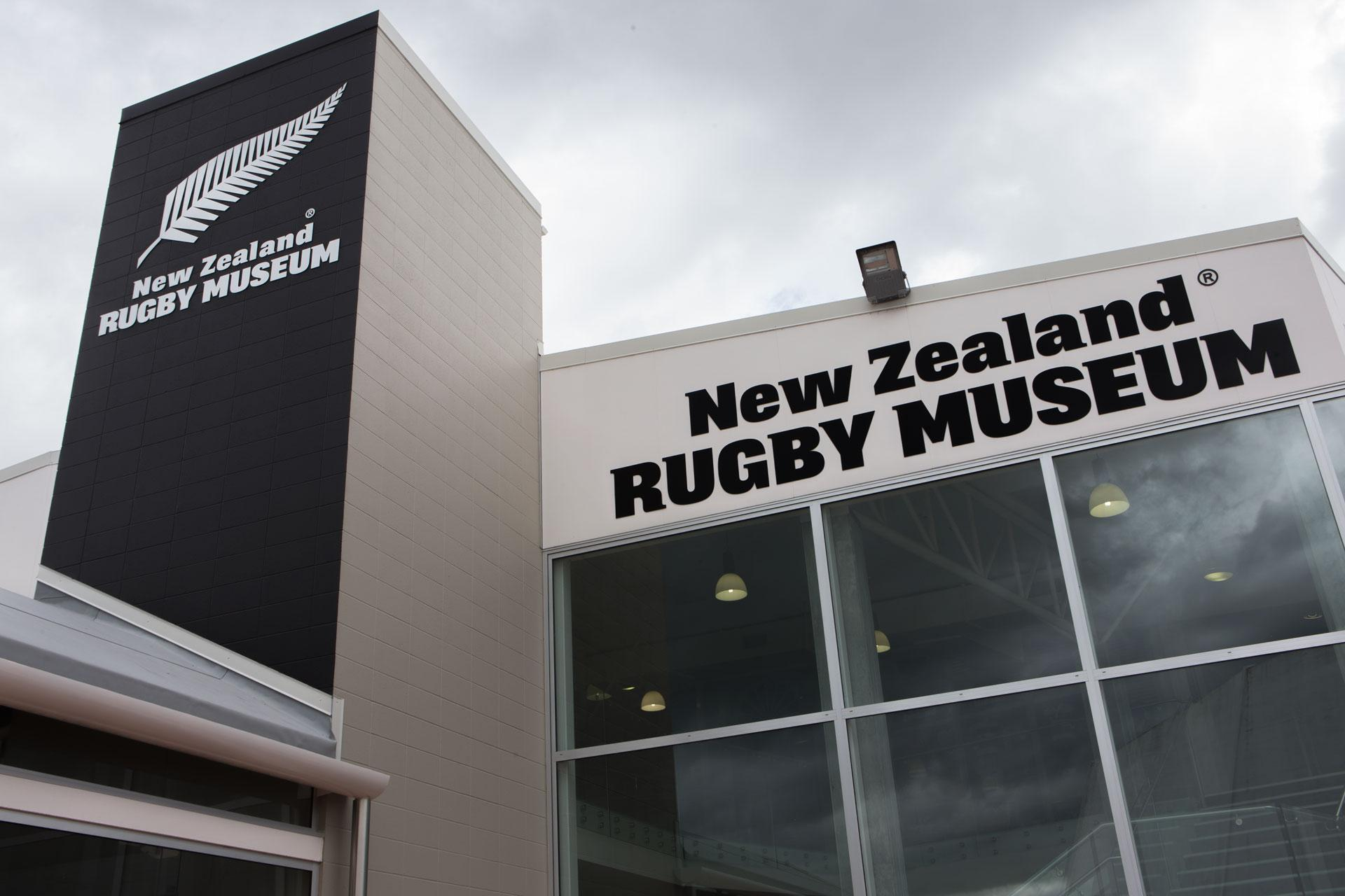 NZ Rugby Museum Branding & Signage image