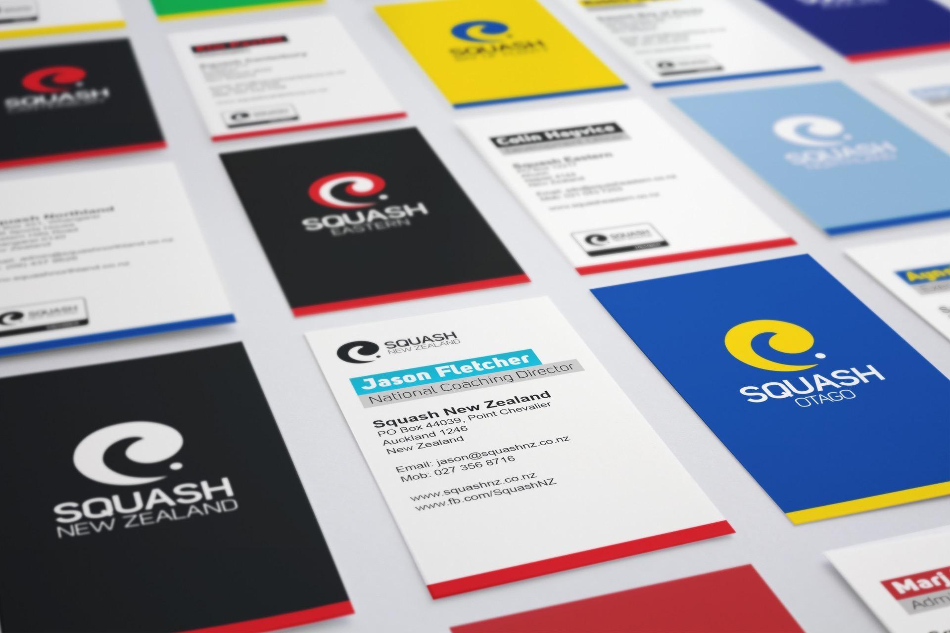 Squash New Zealand Rebrand image