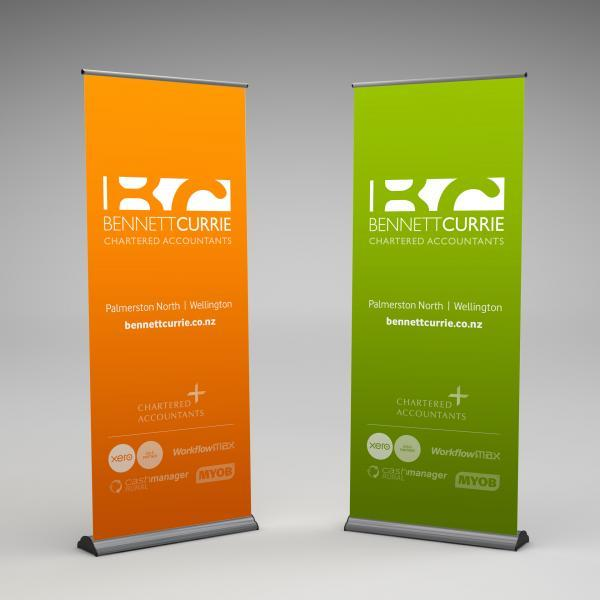 Bennett Currie Pull Up Banners