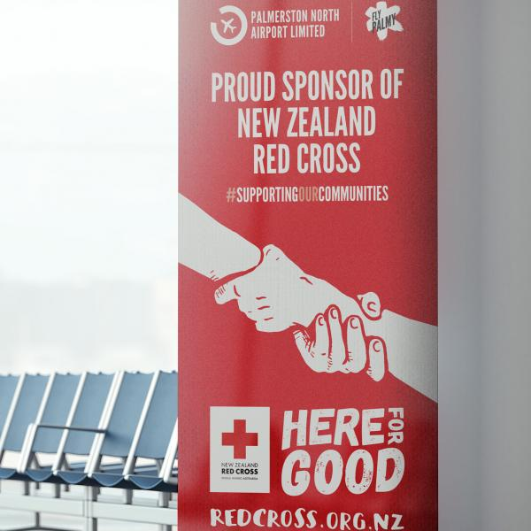 Palmerston North Airport Pullup Banners