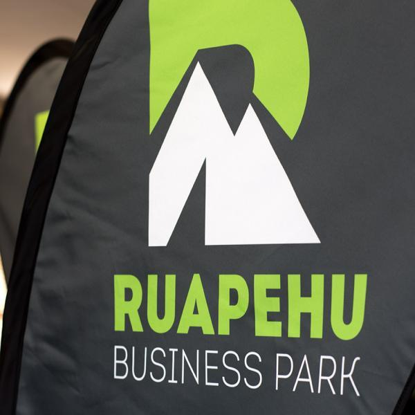 Ruapehu Business Park Flags