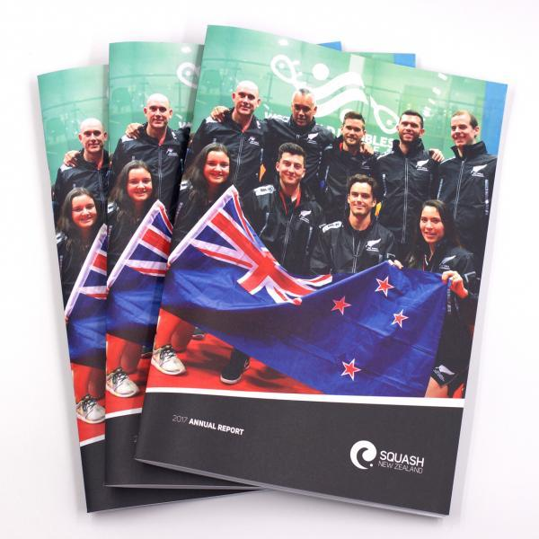 Squash New Zealand Annual Reports