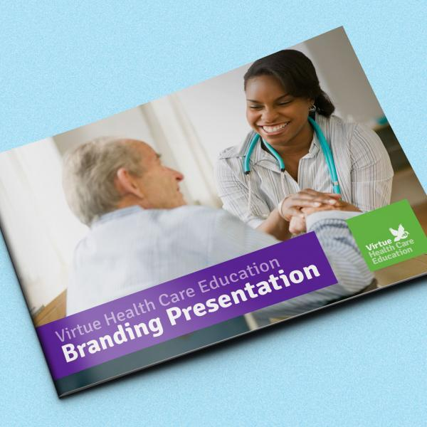 Virtue Healthcare Education Branding